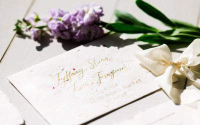 Why Hire A Calligrapher For Your Wedding