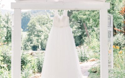 Tips on How to Hang and Store Your Wedding Dress