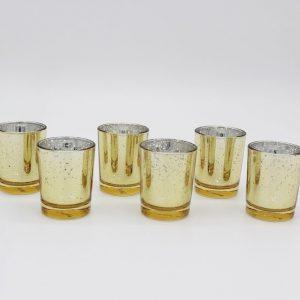 Gold Votive Candles